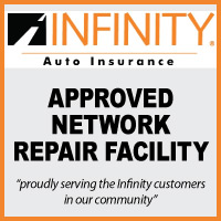 Infinity Approved Network Repair Facility