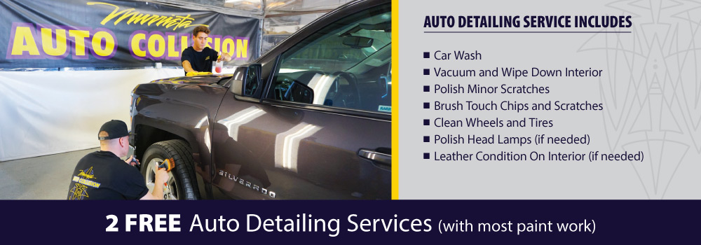 Specials - Free Auto Detailing Service